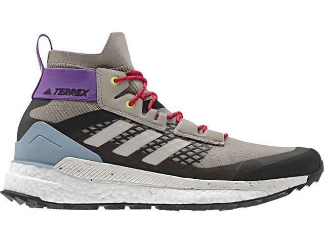 adidas TERREX Free Hiker Vaelluskengät Naiset, lbrown/sbrown/ash grey